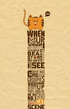 I wanna see the world.  When I Grow Up © leepro on deviantART.