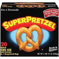 SuperPretzel® King Size - 20 ct. - Sam's Club                              …