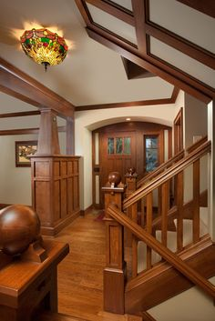 Love The Entry Way And Stairs Craftman Design Pictures Remodel Decor Ideas