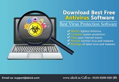 You can simply download free antivirus for PC but before you should read some reviews, it can help you finding effective antivirus. Well, you can go with #Akick #Best #Antivirus #Software that can keep clean your computer and prevents from hijacking online too. Contact Info: Phone: 0120-6500-581              Email ID: support@akick.com