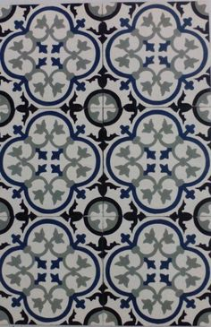 Modelo 229 #casa #house #home #tiles #floor #walls #Spain #Spanish #andalusia  #azulejos #floral
