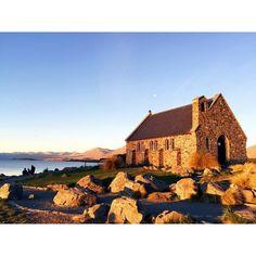 Newzealand #ニュージーランド #LakeTekapo #テカポ #善き羊飼いの教会 #ChurchOfTheGoodSheperd #churh…