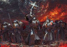 a-40k-author:  Grey Knights by hammk.