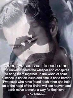 Twin flames, soul mates, and life partners.