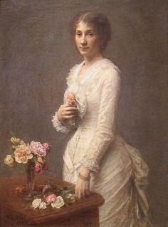 Madame Lerolle, 1882 (Henri Fantin-Latour) (1836-1904) Cleveland Museum of Art, OH