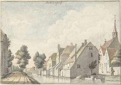 Het dorp Molenaarsgraaf in de Alblasserwaard, Joseph Adolf Schmetterling, 1761 - 1828