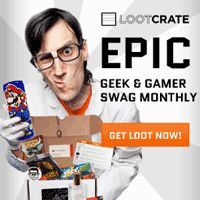 Loot Crate - Monthly Geek and Gamer Subscription Box.