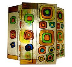 Lamparas. Una idea para darle vida a tus paredes. Parece Miró pero también podría ser Kandinsky. ¿Qué diseño tienes en mente? Nuestros artesanos lo harán realidad. www.lamparasperfecto.com Bogota Colombia