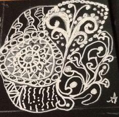 White on black2