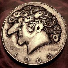 Eric Truitt - Mr. Dusa Hobo Nickel, Coins, Rooms