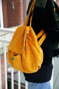DIY Backpack! translate though.. lol
