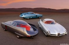 Awesome concepts. The Alfa Romeo B.A.T series