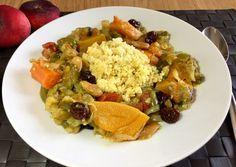 Cuscús de verduras al estilo marroquí