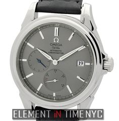 #Omega De Ville Power Reserve 39mm iN Stainless Steel With A Grey Stick Dial Circa 2004 (4832.40.31)