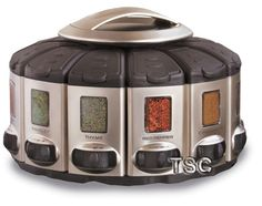 The new Satin Finish Pro Spice Carousel provides optimum spice storage and…