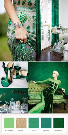 So pretty Emerald green!