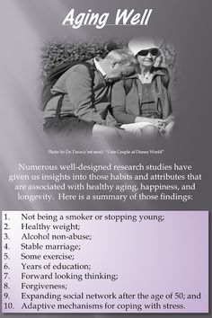 #Aging well YOUR HEALTH - Community - Google+