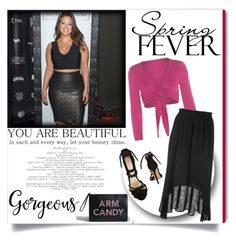 """Spring date!"" by kendraborneman ❤ liked on Polyvore featuring Torrid, Isolde Roth, Alexandre Birman and springdate"