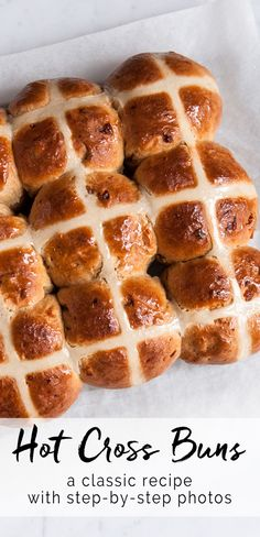 Hot Cross Buns | eatlittlebird.com