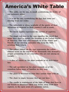 """Veterans Day White Table display description sign - - See the adjacent image for a photo of the Manatee County Public Library System's """"White Table"""" display. Vinyl Decor, Art Decor, Military Veterans, Military Life, Military Quotes, Military Pictures, Step Up, Fallen Soldier Table, Veterans Day Quotes"""
