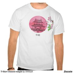 T-Shirt Chinese temple