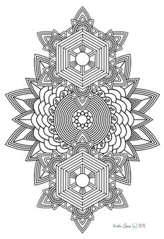 108 | Printable Intricate Mandala Coloring Pages, Instant Download, PDF, Mandala Doodling Page, Adult Coloring Pages, Kids Coloring Pages by KrishTheBrand on Etsy https://www.etsy.com/listing/233731691/108-printable-intricate-mandala-coloring