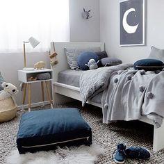 Serious inspo for my little guys big boy room! @melplambeck via @littleconnoisseur