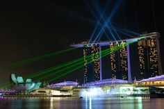 Light show @Marina Bay Sands by Gilles Royer on 500px