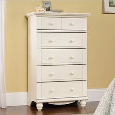 Harbor View 5 Drawer Chest in Antique...