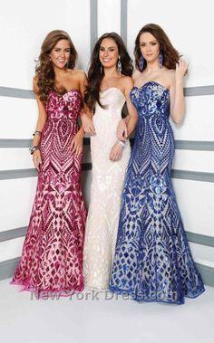 Mon Cheri 116531 Dress - NewYorkDress.com