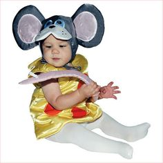 mouse in cheese costume - #babymousecostume