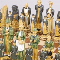 Another Sherlock Holmes chess set