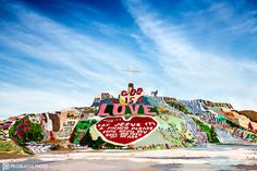 https://flic.kr/p/EgvmXi | That's the Spirit | No trip to the eastern shores of the Salton Sea would be complete without a visit to Salvation Mountain.