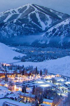 Ketchum, Idaho: A hideaway ski town emerges. #35 on @nytimes's list of 52 Places to Go in 2017 (Photo: Sun Valley Resort/Joshua Wells)