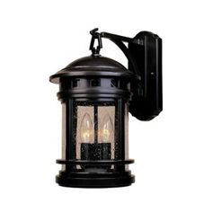 Designers Fountain, Mesa Collection 3-Light Oil Rubbed Bronze Outdoor Wall-Mount Lantern, HC0478 at The Home Depot - Mobile