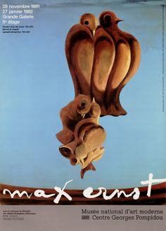 L'évènement Max Ernst, Rétrospective - Centre Pompidou