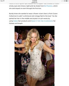 Actress Laura Bell Bundy wearing AIRess Malibu Blonde Queen C Hair Extensions on her wedding day! Check out the article on People.com mentioning Queen C Hair!!!!! (Link below) celebrity wedding To get all the details of Laura's fabulous wedding go to: http://people.com/style/laura-bell-bundy-wedding-dress-details/