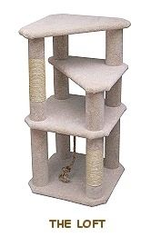 The Loft Cat Tree... An Easy DIY Cat Furniture Project