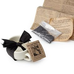 Look what I found at UncommonGoods: tea leaf reading kit... for $23 #uncommongoods
