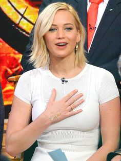 Where to get Jennifer Lawrence's gold hand chain
