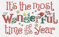Christmas cross stitch