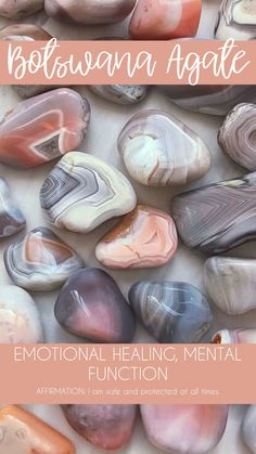Botswana Agate Tumbled Pocket Stone — Rocks with Sass Crystal Healing Stones, Crystal Magic, Stones And Crystals, Gem Stones, Minerals And Gemstones, Crystals Minerals, Rocks And Minerals, A Silent Voice, Crystal Meanings