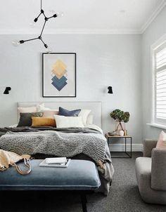 - Grey Bedroom Design, Gray Bedroom, Bedroom Decor, Bedroom Ideas, Bedroom Designs, Bedroom Colors, Bedroom Furniture, Master Bedroom, Luxury Home Decor