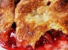 Perfect Cherry Cobbler Recipe FULL RECIPE HERE Dessert Recipe Ideas dessert recipe ideas easy dessert ideas for party easy dessert ideas f. Cherry Desserts, Cherry Recipes, Köstliche Desserts, Fruit Recipes, Dessert Recipes, Cooking Recipes, Cherry Pie Filling Desserts, Nectarine Recipes, Grandma's Recipes