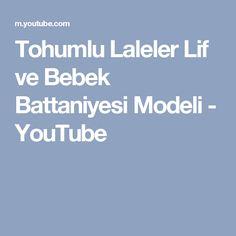 Tohumlu Laleler Lif ve Bebek Battaniyesi Modeli - YouTube