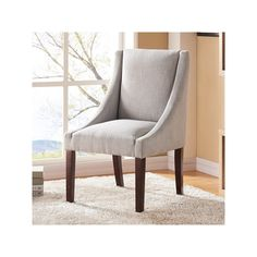 Kinsley Swoop Chair, Grey