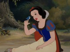♫ Remember, you're the one that can fill the world with sunshine. ♫ Snow White Be you. Whatever grey comes along, your personality will always shine through; so let it gleam bright!