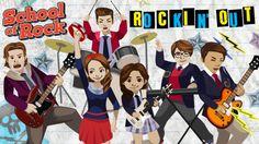 school of rock nickelodeon | School of Rock: Rockin' Out Music Game