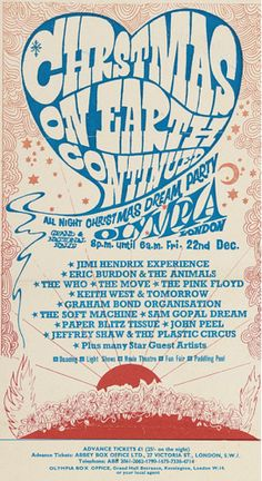 """Christmas On Earth Continued"" Festival - Olympia, London 1967"