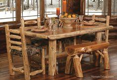 Rustik Yemek Odaları | Yemek Odası
